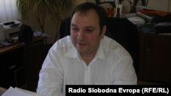 """Виктор Божиновски, директор на ЈП """"Водовод"""" Куманово."""
