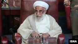 Иран эксперттер кеңесі төрағасы болып сайланған аятолла Ахмад Жәннати. 24 мамыр 2016 жыл.