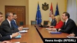 Sastanak Majkla Devenporta i Aleksandra Vučića, 10. novembar 2015.