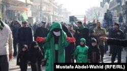 كربلاء: مشهد من احياء ذكري واقعة كربلاء