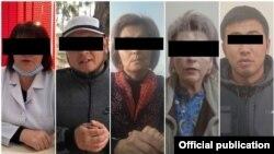 Задержанные за распространение недостоверной информации.