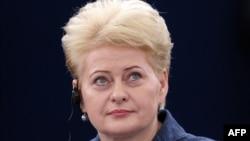 Даля Грибаускайте, президент Литвы.