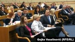 Dodik u Narodnoj skupštini danas kritikovao i međunarodnu zajednicu