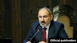 Armenian Prime Minister Nikol Pashinian (archive photo)