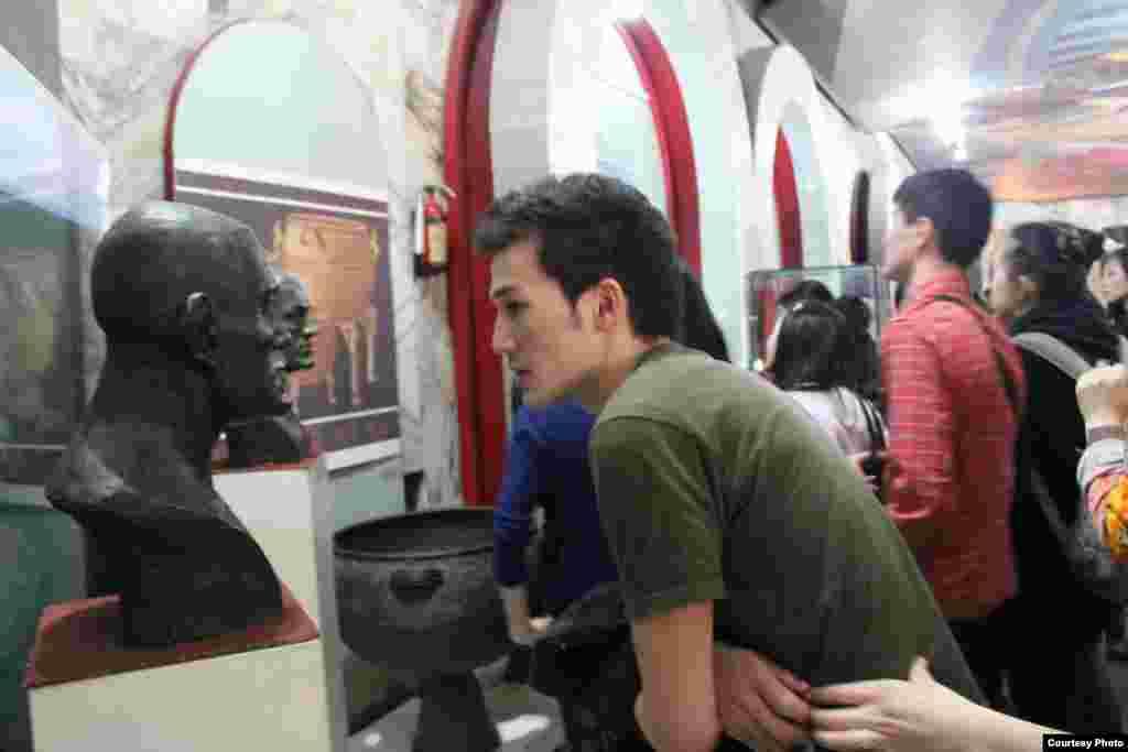 Посещение исторического музея с одногрупниками.