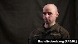 Андрій Куліш, прес-офіцер бригади швидкого реагування Нацгвардії України