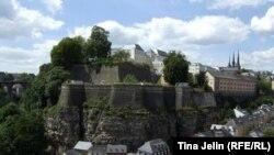 Люксембург қаласының көрінісі.