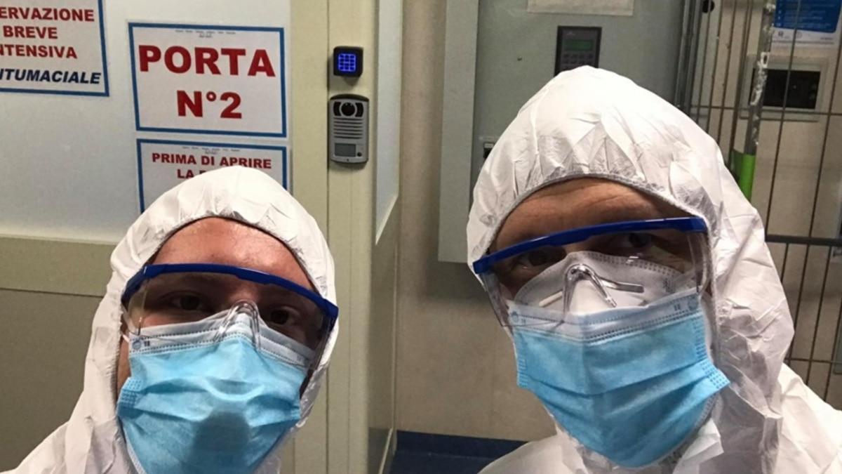 Главное – не бояться, а хорошо делать свою работу – врач Роман Собко, который вернулся с миссии в Италии