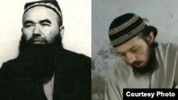 """Имам Абдували кори Мирзаев (слева) и предполагаемый """"агент"""" СНБ Хайрулла Султонов, заявивший о том, что имам был похищен."""