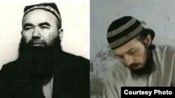 Имам Абдували кори Мирзаев (слева) и предполагаемый «агент» СНБ Хайрулла Султонов, заявивший о том, что имам был похищен.