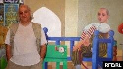 الفنان التشكيلي العراقي فيصل لعيبي