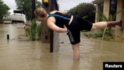 Затопленный Сочи, лето 2015 г.