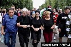 Пахаваньне футбольнага фаната Мікіты Крыўцова з Маладэчна, 25 жніўня 2020