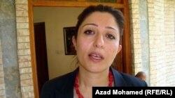 عضوة البرلمان الكردستاني كشه دارا الحفيد
