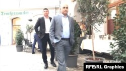 Бодігарди намагались завадити зйомці журналістів, щоб приховати гостей від камер