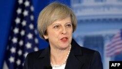 Тереза Мэй, Ұлыбритания премьер-министрі. Филадельфия, АҚШ, 26 қаңтар 2017 жыл.