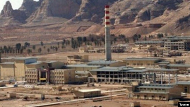 The Natanz nuclear facility in central Iran (file photo)