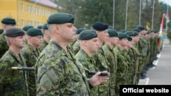 Канадские военные прибыли тренировать украинских коллег (фото с сайта Минобороны)