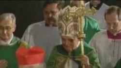 Pope Benedict In Prague