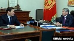Абдиль Сегизбаев и Алмазбек Атамбаев