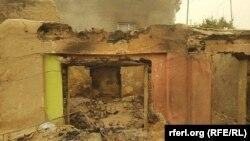 Աֆղանստան - Մարտական գործողությունների հետևանքով ավերված տուն Կունդուզում, 29-ը հոկտեմբերի, 2016թ․