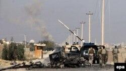 Годом ранее Талибы на несколько дней захватили город Кундуз