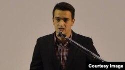 Владимир Нелоски, претседател на Унијата на млади сили на ВМРО-ДПМНЕ.
