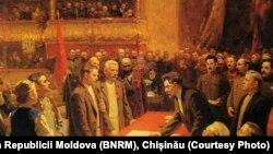Actul de constituire a URSS (30 decembrie 1922), pictură sovietică