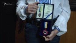 В Одессе наградили крымских активистов за помощь военным в 2014 году (видео)