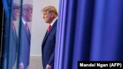Президент США Дональд Трамп. 24 ноября 2020 г.