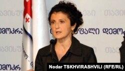 Грузия ішкі істер министрі Ти Цулукиани.