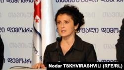 Georgia's incoming Justice Minister Tea Tsulukiani (file photo)
