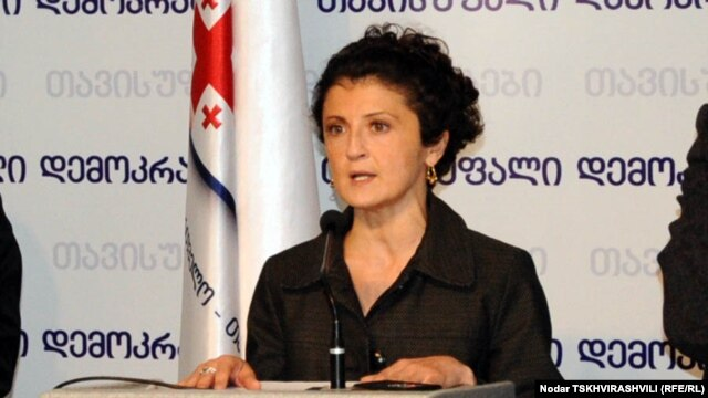 Georgia's incoming Justice Minister Tea Tsulukiani (file photo)