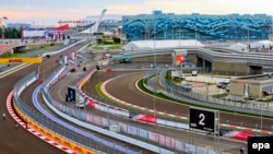 Formula One's first Russian Grand Prix was held in October 2014 at a track looping around some of the venues from last year's Winter Olympics in Sochi.
