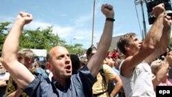 Demobilisani borci protestuju u Sarajevu
