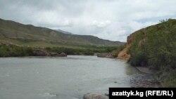 Қырғызстандағы Нарын өзені.