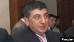Armenia -- Khachatur Sukiasian, a fugitive opposition MP and businessman, undated