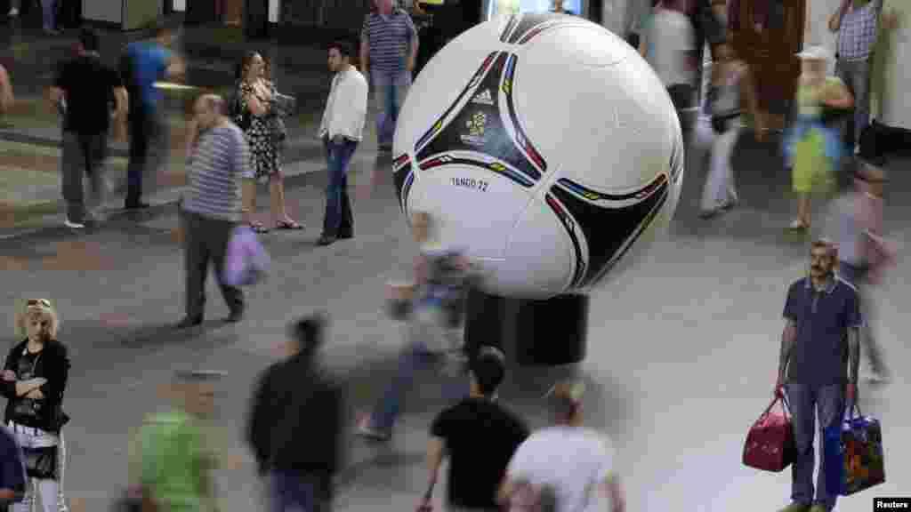 Ukrajina - Euro 2012., Kijev, 29. maj 2012. Foto: Reuters / Gleb Garanich
