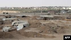 Граница Египта и сектора Газа.