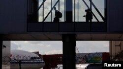 Коридор аэропорта Шереметьево, Москва. Иллюстративное фото.