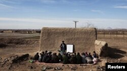 An school in Helmand, Afghanistan.