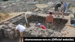 Археологи в Крыму, иллюстрационное фото