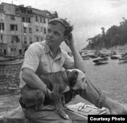 Трумэн Капоте. Портофино. Италия, 1950