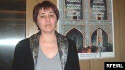 Президент правозащитной ассоциации «Права человека в Центральной Азии» Надежда Атаева. Прага, 20 февраля 2009 года.