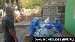 Шесть пунктов для PCR-тестирования открыты в селах Караджалари и Каратакла муниципалитета Гардабани