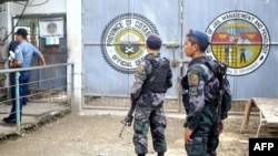 В филиппинской тюрьме, из которой был совершён массовый побег (Кидапаван, 4 января 2017 г.)