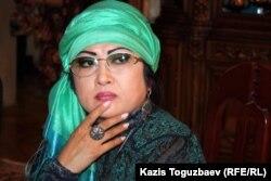 Макпал Жунусова, вдова Заманбека Нуркадилова, погибшего от огнестрельных ранений. Алматы, 12 ноября 2012 года.