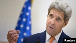 """This deal is a good deal. It gets the job done,"" Kerry said. (file photo)"