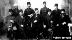 اعضای رهبری «کمیته اتحاد و ترقی» که در جریان یک کودتای نظامی در سال ۱۹۱۳، به قدرت غالب در حکومت ترکان جوان تبدیل شدند.