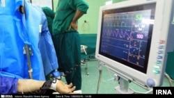 İranda xəstəxananın əməliyyat otağı